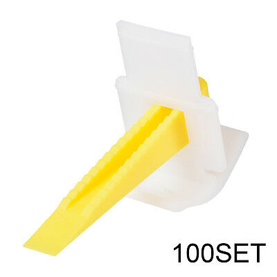 200x Tile Leveling System Spacer Flooring Level Lippage Construction Tool HS892