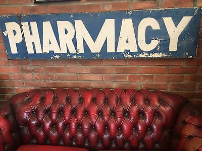 Vintage 'Pharmacy' Sign