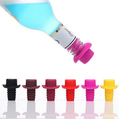 Home Kitchen Gadget Silicone Rubber Wine Beer Bottle Stopper Cap Cover Sealer