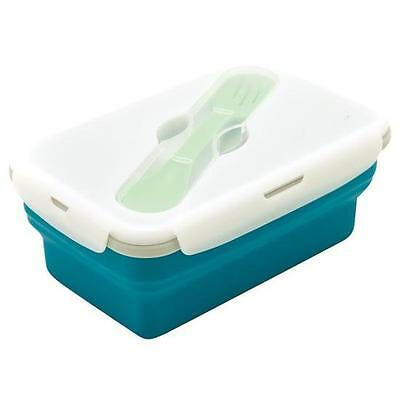 Eco Blue Vessel Smashbox Lunchbox 1 Compartment - Leak Proof Food Container
