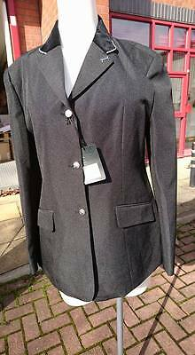 "Sherwood Forest Perlino Girls Competition Show Jacket Black 22"" 24"""