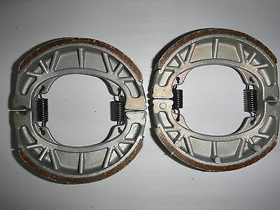 Honda C90 C90 Cub Front And Rear Brake Shoes 1975 To 1995 All Models H303 Vb101