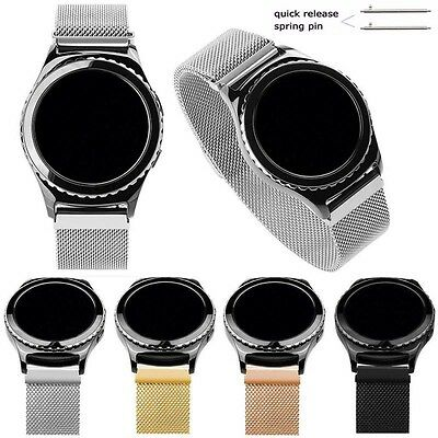 Milanese Watch Strap Loop Wrist Band For Samsung Gear S3 S2 Classic/Frontier