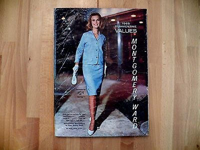 Vintage Montgomery Ward Catalog Summer 1965 Great Condition 348 Pages