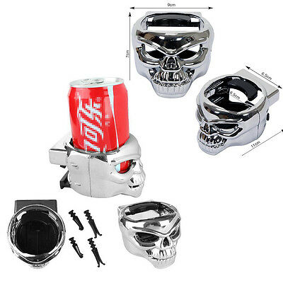 1X Car Auto Park Kito Cup Holder Drink Holder Skull For Audi Ford VW Benz BMW