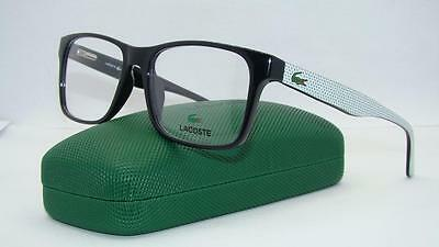 LACOSTE L2741 001 Black + Org Case Glasses Frames Eyeglasses Size 53