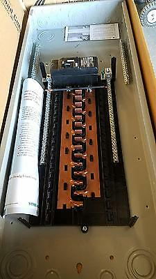 SIEMENS P3040B1200CU 1PH Main Breaker Indoor Load Center, 30S 40C, 200A, Copper