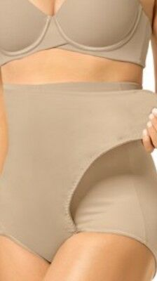 Leonisa High-Waist Postpartum Panty With Adjustable Belly Wrap Small
