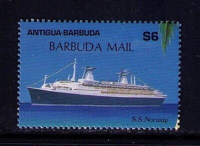 Antigua and Barbuda 6$ Stamp SS Norway SC #1055 MNH Cat.$50