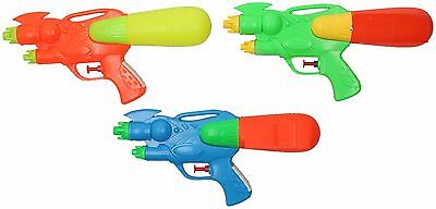3 Pack Kids Small Water Pistols Childrens Water Gun Shooter blaster Soaker