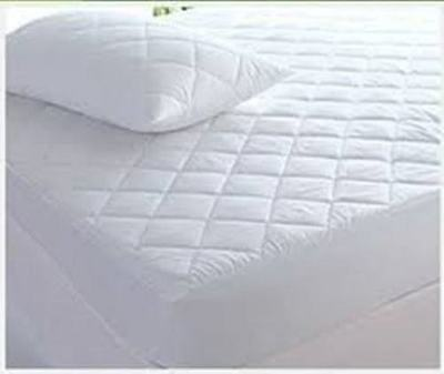 """Extra Deep Egyp Cotton Quilted Mattress Protector 12"""" Fitted Bed Cover:all Sizes"""