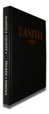 Haskell County, Texas History: Family Histories to 1975, Genealogy *SIGNED*