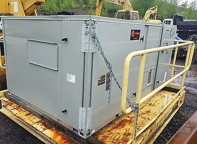 2011 Trane Voyager 12.5 Ton Packaged RTU with Electric Heat Rooftop Unit 460V/3