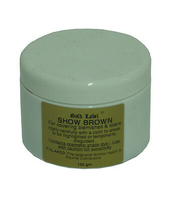Gold Label Show Brown - 100 g - Showing