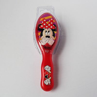 Disney - Minnie Mouse - Minnie Blowing Kiss Girls Red Youth Hair Brush