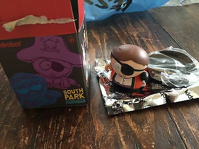 PIRATE CARTMAN Many Faces of Cartman South Park Series 2 - Kidrobot CAPTAIN NEW