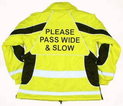 Equisafety Aspey Hi-Vis Winter Jacket - Rider Safety Wear