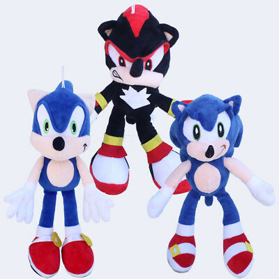 """Sonic The Hedgehog Stuffed Animals Plush Toy Blue 12"""" Soft Doll for Toy Gift Toy"""