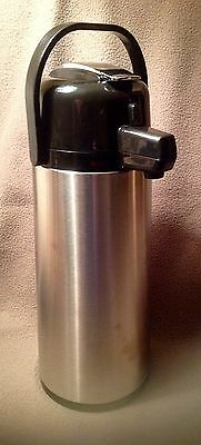Daily Chef Stainless Steel 2.2 L Commercial Airpot New In Box Swivel Base