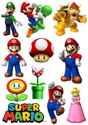Décoration enfant Stickers / Autocollant Mario Bros