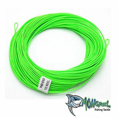 New Fly Line Floating Fly Line - For Native Fly Fishing 6-WT 100 FT  Green