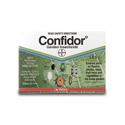Yates Bayer 5 x 5g Confidor Insecticide Satchets