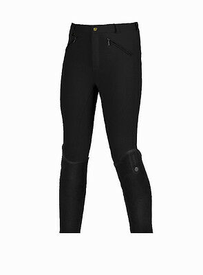Horze Active Junior Self-Patch Breeches - Children's Clothing