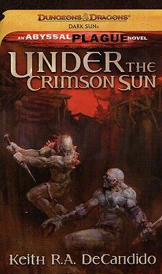Dungeons & Dragons-Under The Crimson Sun-The Abyssal Plague Novel-New-very rare