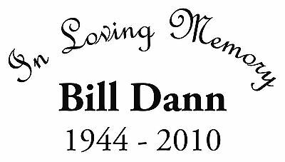 In Loving Memory Car Decals >> In Loving Memory Car Decal Window Sticker