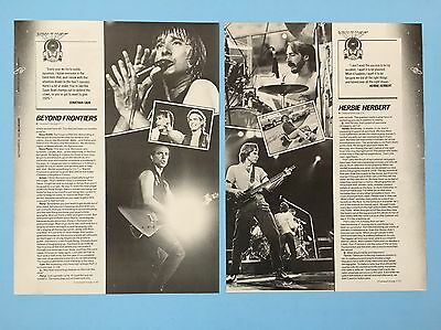 """Journey 2-Rare Original 11X14.5"""" Clipping From 1983 Near Mint"""