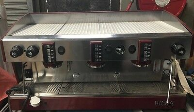 Wega Atlas 10 3 Group Automatic Espresso Coffee Late Machine Commercial Cafe