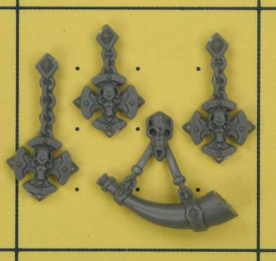 Warhammer 40K Space Marines Space Wolves Wolf Guard Terminator Accessories (A)
