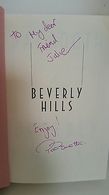"Signed book ""Beverly Hills"" by (the late) novelist Pat Booth"