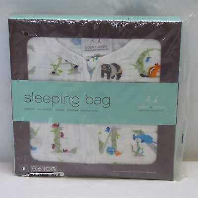 aden + anais Classic Sleeping Bag Small, Paper Tales 0.6 tog S Small