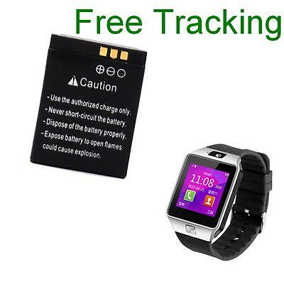 Battery for smartwatch DZ09 A1 FYM-M9 LQ-S1 HKX-S1 Batterie QN-01 smart watch