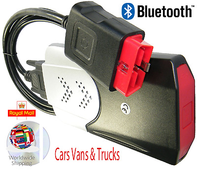 Universal Diagnostic Interface Scanner Tool with Software Bluetooth Cars & Tr...