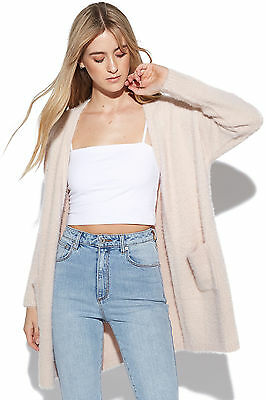 New ALL ABOUT EVE Womens Pursuit Cardi Blush