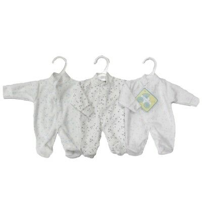 Premature Preemie Prem Baby Clothes Sleepsuit Babygrow Early Arrival Boys Girls