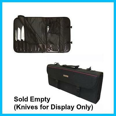 Chef Works Knife Case 17 Pockets, Great Way to Store and Carry Your Knife Set