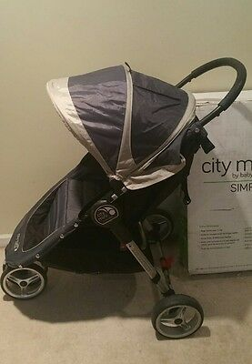 Baby Jogger City Mini Compact All Terrain Stroller Midnight Grey