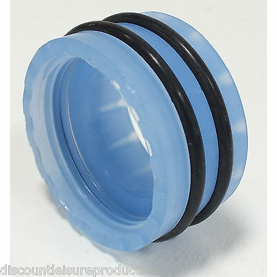 Tropical Marine Centre Pro Clear Blue Locking Nut Including O Rings
