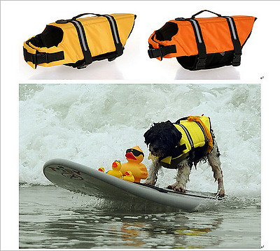 New Pet Life Jacket Outdoor Swimming Suit Summer Clothes Pet Safe Bathing Suit 1