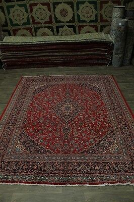 Great Traditional S Antique Plush Mashad Persian Rug Oriental Area Carpet 10X13