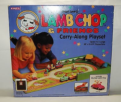 Vintage 1994 Shari Lewis' Lamb Chop & Friends Carry-Along Playset New NIB Sealed