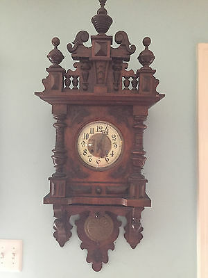 Antique black forest cookoo clock