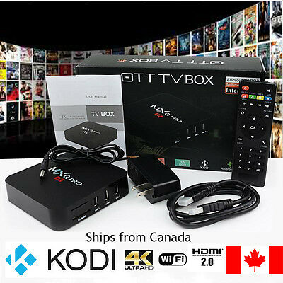 MXQ Pro Android 6.0 High Quality TV Box S905X 64 Bit Amlogic, KODI 16.1, 4K