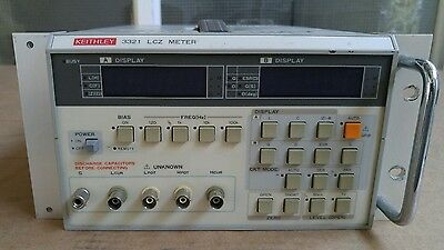 Keithley 3321 LCZ Meter, LCR Component Tester with GPIB quantity free shipping