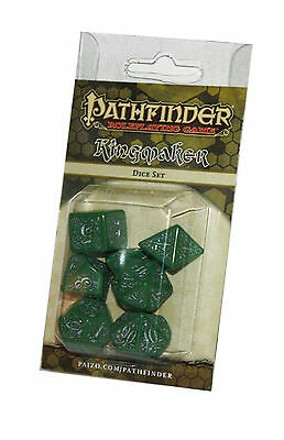 PATHFINDER-SET-DICE SET-Kingmaker-W4,W6,W8,W10,W12,W20,W100-(00)-neu-new