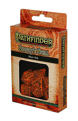 PATHFINDER-SET-DICE SET-Serpent´s Skull-W4,W6,W8,W10,W12,W20,W100-(00)-neu-new