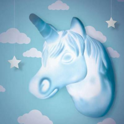 LED Unicorn Door Sensor Light & Hook